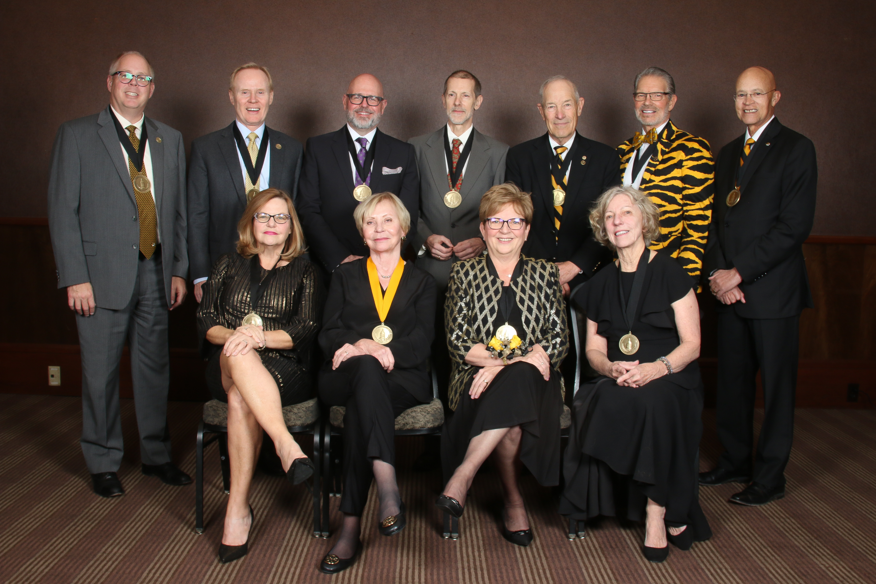 All of the Faculty-Alumni Award recipients